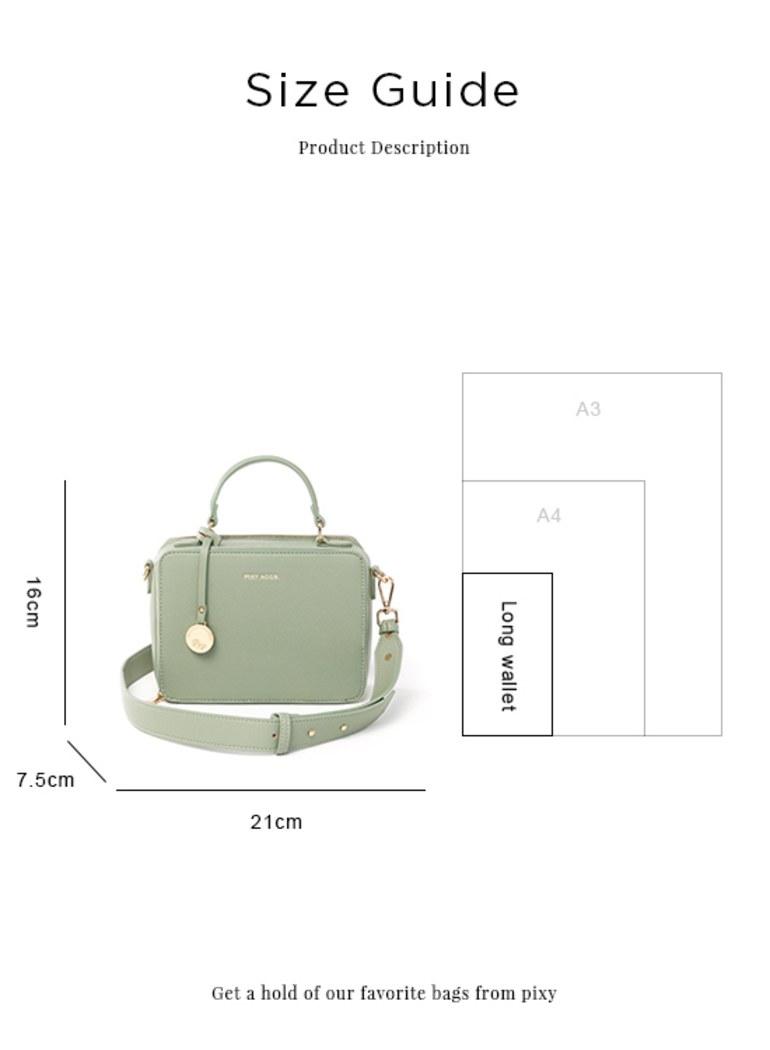 輕透視角餐盒包小方包