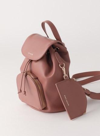 古董色調的浪漫小後背包